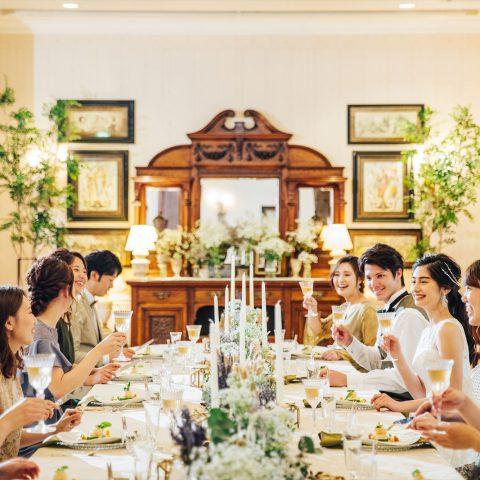 【挙式+会食】20名迄の少人数婚*デザート試食&特別PLAN紹介×専用会場見学